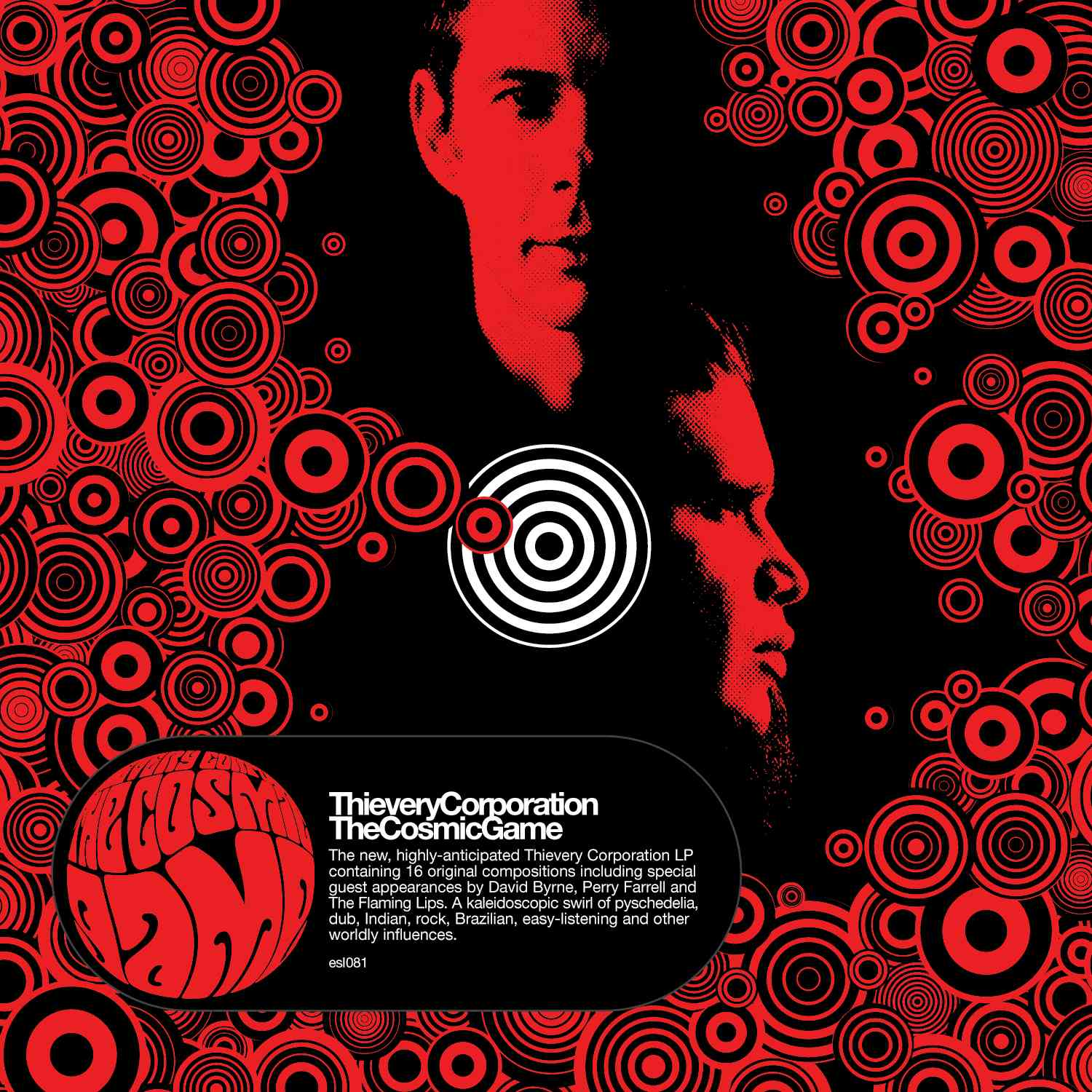 COSMIC GAME BY THIEVERY CORPORATION (CD)